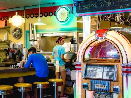 Hub City Diner Jukebox