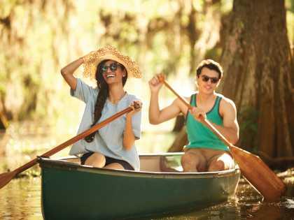 Lake Martin Canoe Stay Happy