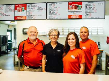 The Lunch Box Owners & Staff