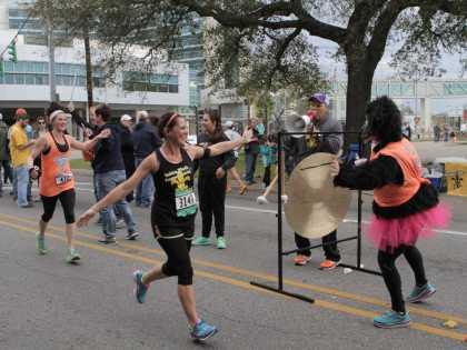 Zydeco Marathon Finish Line