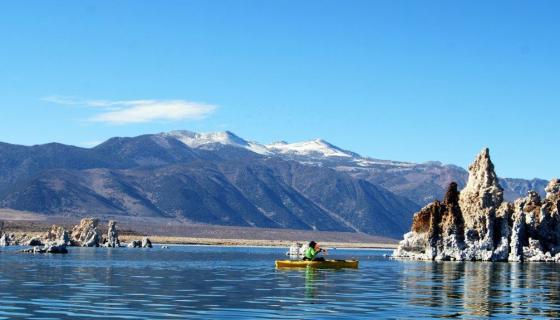 Mono Lake Kayak