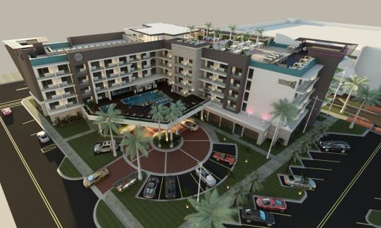 Home2Suites Pompano rendering
