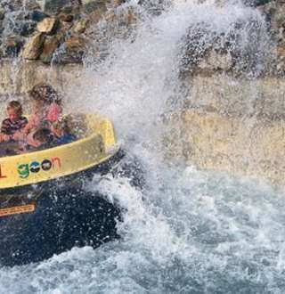 Rattlesnake Rapids at Lagoon Amusement Park