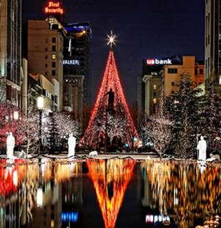 Salt Lake Festival Of Lights Christmas On Temple Square