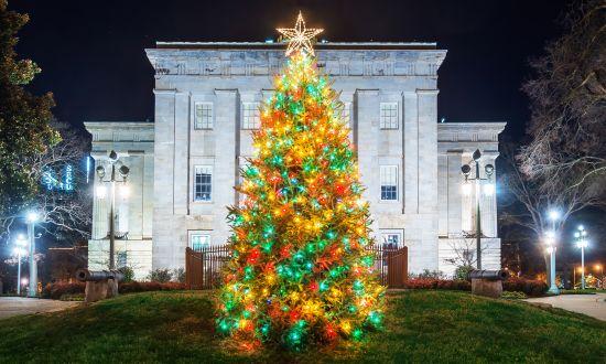 Holiday Favorites: Light Displays and Christmas Tree Lightings in Raleigh, N.C.