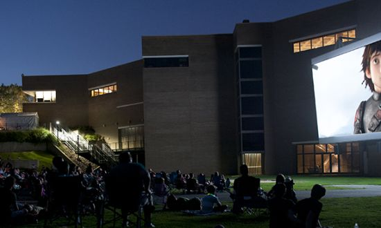 North Carolina Museum of Art Summer Movie Outdoor