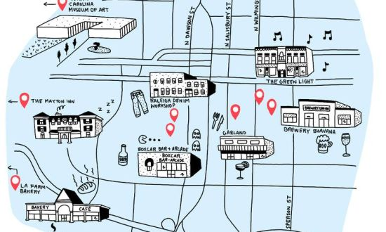 Globe and Mail Raleigh Illustration