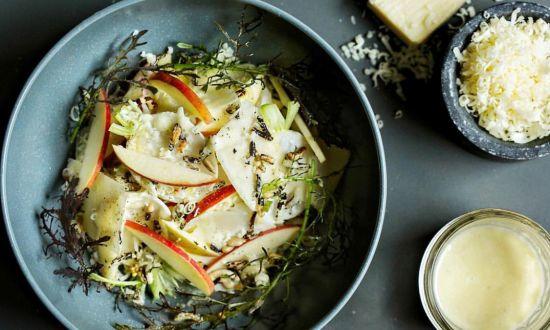 Chef Scott Crawford's Apple and Turnip Salad