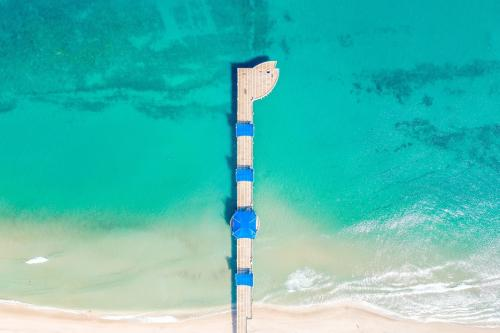 Pompano Beach's fishing pier in Greater Fort Lauderdale