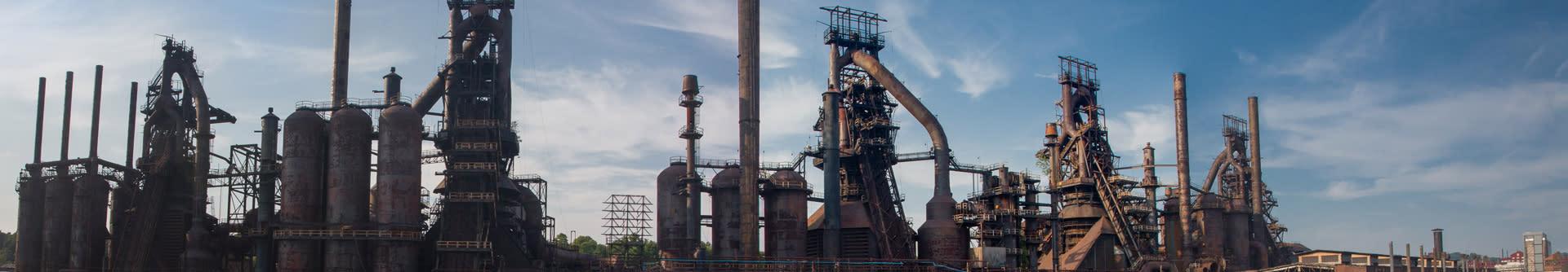 Bethlehem SteelStacks Interior Header