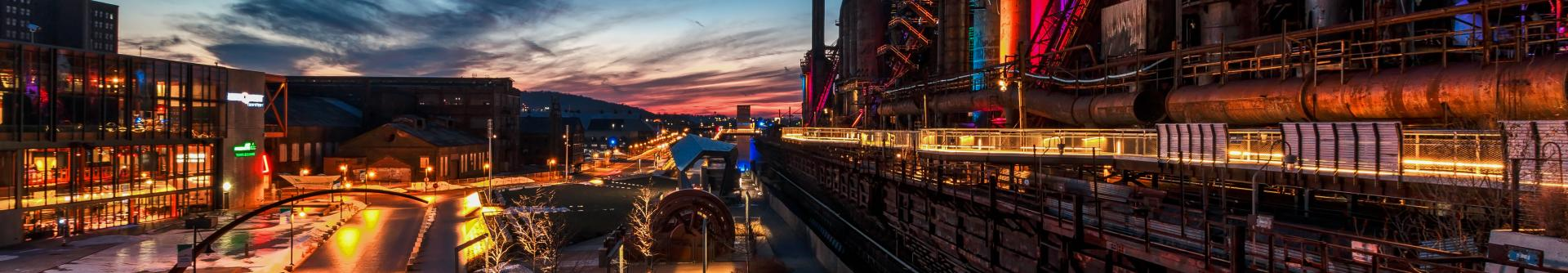 SteelStacks Sunset 01 Discover Lehigh Valley Jason Philibotte Overload Images