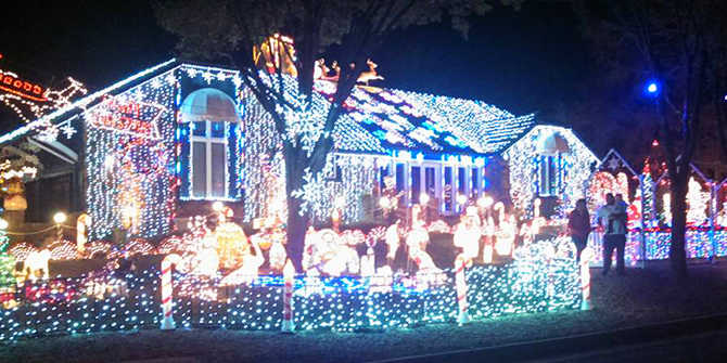wichita is about to explode with christmas cheer on thanksgiving day when neighborhoods are adorned with thousands of lights to officially mark the holiday - Where To Go See Christmas Lights