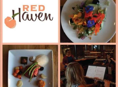 Red Haven Cook Book Dinner