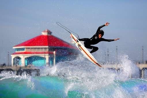 Huntington Beach ISA World Junior Surfing Champion Tour