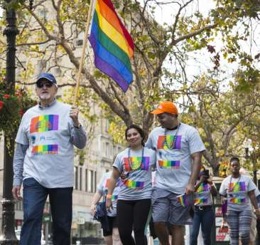 Marches take to the streets for the Oakland Pride Parade