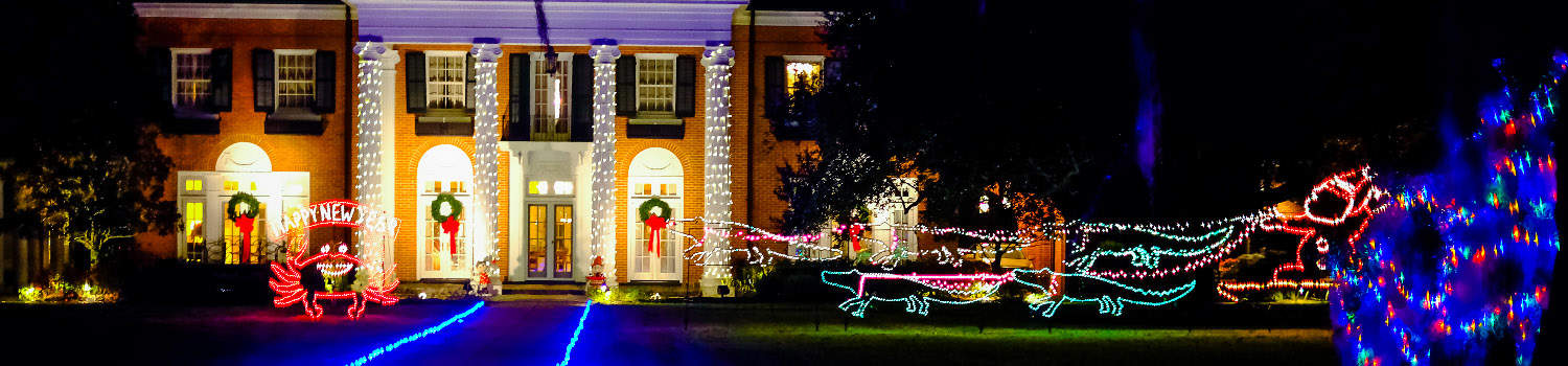 lighted house _ lake charles - Jones Beach Christmas Light Show