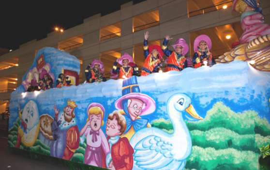 Krewe of Centurions parade float