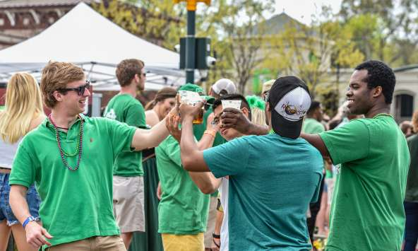 St. Pats in Five Points