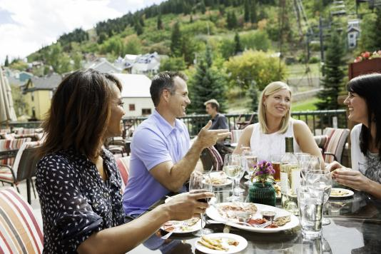 Park City Outdoor Dining at Butchers