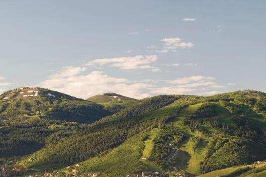 Park City Mountains in the Summer