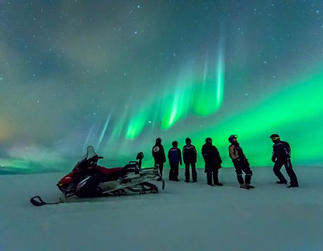 Magical Northern Lights up at 70 Degrees North