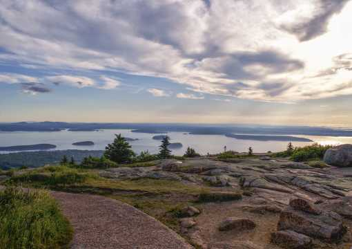 Cadillac Mountain Acadia National Park Maine