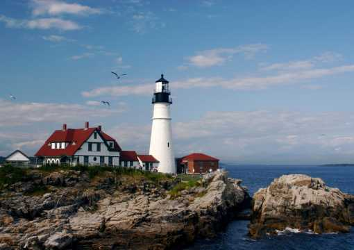 Portland Headlight lighthouse, Greater Portland Maine