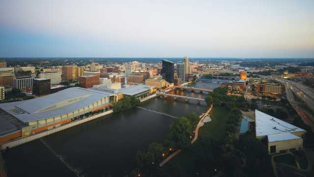 Gvsu Grand Rapids Campus Map.Grand Rapids Maps Experience Grand Rapids
