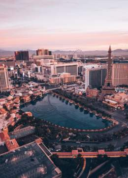 Las Vegas Strip from The Cosmopolitan