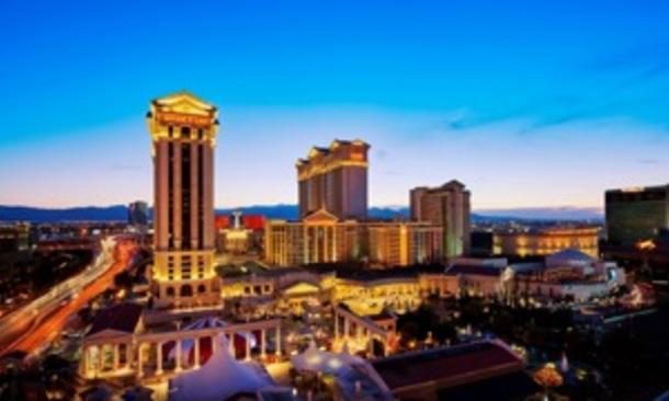 exterior view of Caesars Palace Las Vegas Hotel & Casino