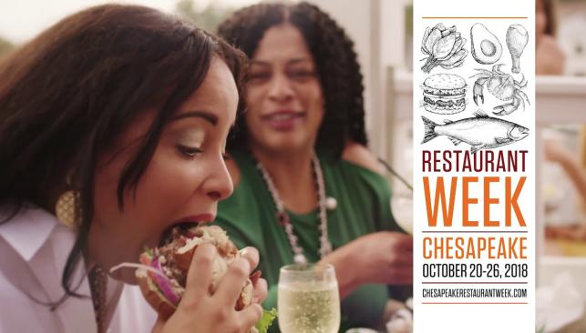 Chesapeake Restaurant Week 2018