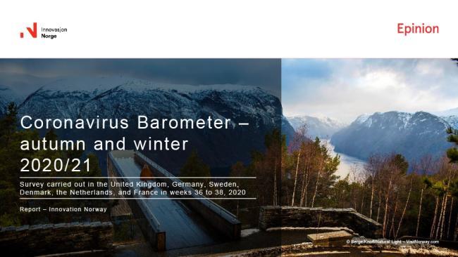 Corona barometer autumn winter Norway 2020 2021