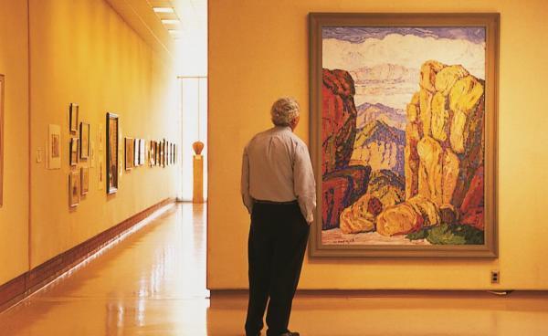 Birger Sandzen Memorial Gallery