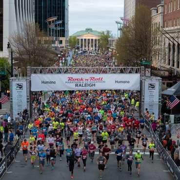 2017 Rock 'n' Roll Raleigh Marathon & 1/2 Marathon