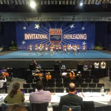 2014 NCHSAA Cheerleading Invitational