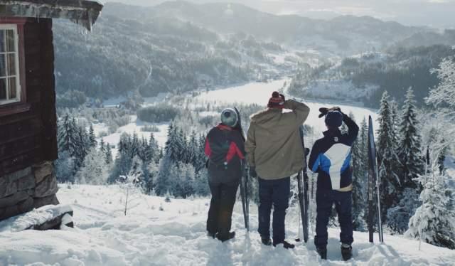 Ski DNA campaign