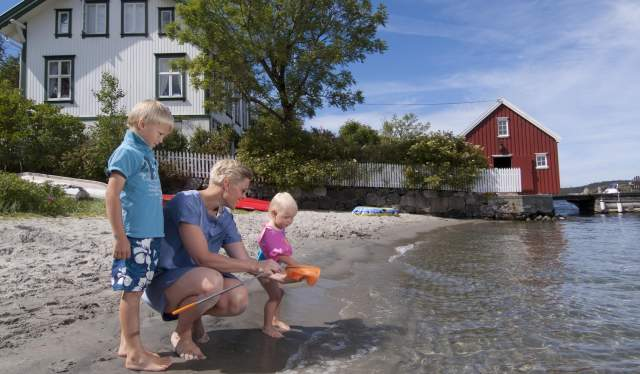 Merdø beach, Arendal