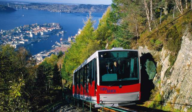 Fløybanen, Bergen