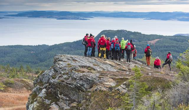 Hurtigruten Expedition hike