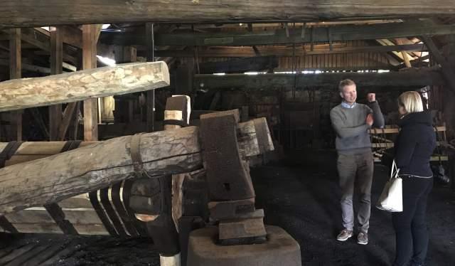 Hammer at Næs Jernverksmuseum