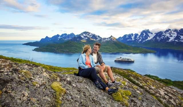 Randonnée dans les Lofoten avec Hurtigruten