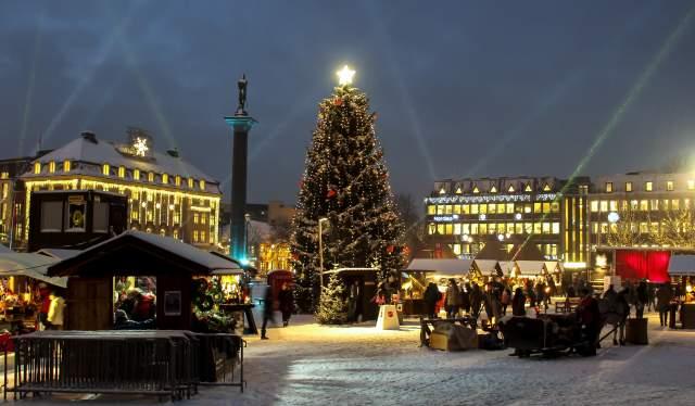 Christmas market in Trondheim