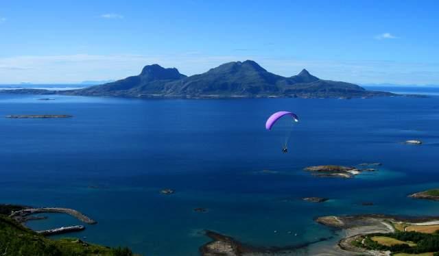 Landegode, parachute jumper