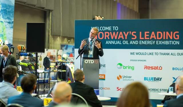 Presentation at Offshore Technology Days 2019 in Stavanger, Norway