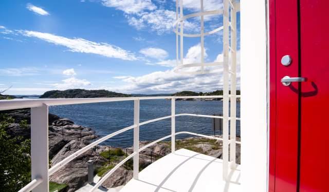 Siloen at Verftet Ny-Hellesund in Søgne, Southern Norway