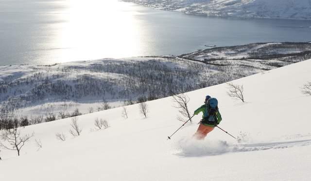 Gammelgårdsfjellet, Tromsø