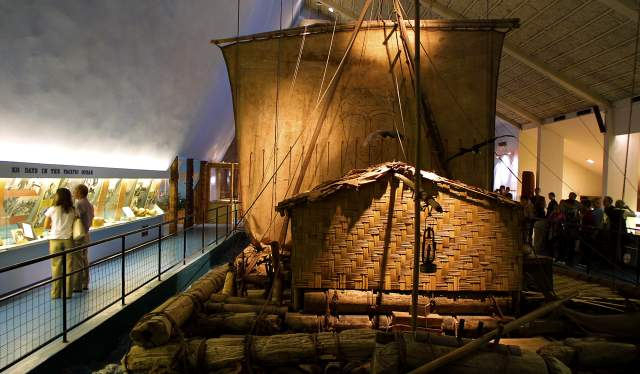 The Kon-Tiki museum at Bygdøy