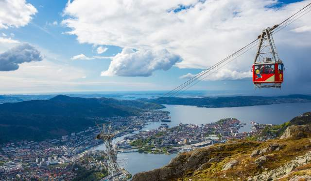 Ulriksbanen, Bergen