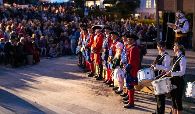 Pirate festival Farsund Norway