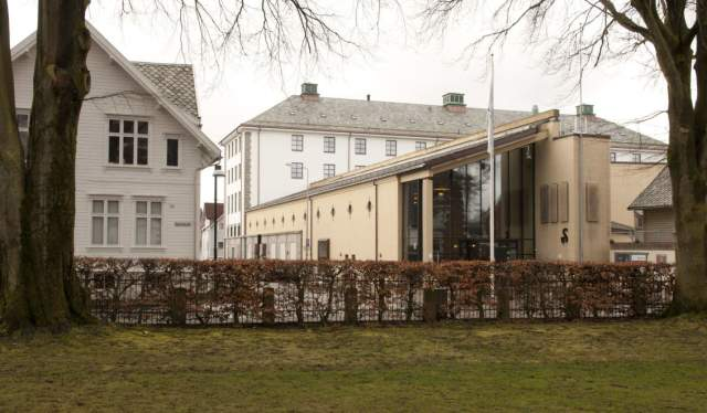 The Museum of Archaeology in Stavanger, Fjord Norway